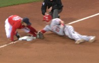 Mike Trout confident of replay after crafty slide