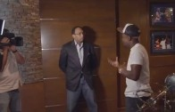 Stephen A. Smith visits Floyd Mayweather