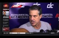 Wizards head coach Randy Wittman goes in on the media