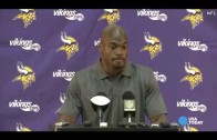 Adrian Peterson on his mistake & his return to the Vikings