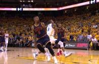 Andre Iguodala strips LeBron James & throws down the slam