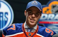 Edmonton Oilers select Connor McDavid with the 1st overall pick
