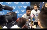 Iman Shumpert not having any of 'Guillermo' from Jimmy Kimmel