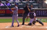 Joc Pederson crushes a 477-foot two-run shot