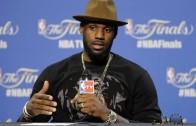 LeBron James post game press conference (Game 6 – NBA Finals)