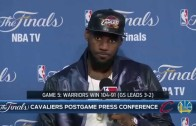 LeBron James says he is the best player in the world in Game 5 press conference