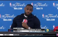 LeBron James press conference (Game 2 – NBA Finals)