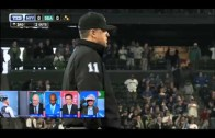 Lloyd McClendon goes on a tirade over check swing call & ejection