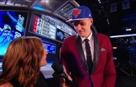 New York Knicks fans boo mercilessly at 4th overall pick Kristaps Porzingis