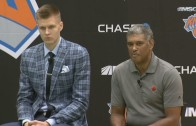 Phil Jackson discusses drafting Kristaps Porzingis & Jerian Grant