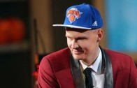 Actor Michael Rapaport with an epic rant when Knicks draft Kristaps Porzingis