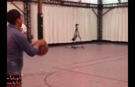 Runs In The Fam: Steph Curry's wife drills a NBA 3-pointer