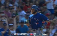Russell Martin blasts a solo homer in the 11th to give Jays 10th win in a row