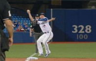 Vote For Josh: Josh Donaldson makes the barehanded throw after ball hits bag