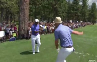 """Justin Timberlake & Alfonso Ribeiro break out the """"Carlton"""" dance on the Golf Course"""