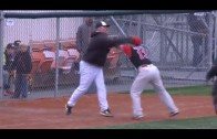 Baseball managers in Alaska throw down with blows!