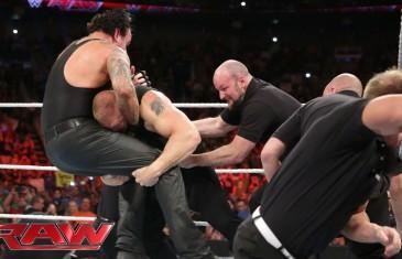 Brock Lesnar confronts The Undertaker!