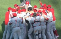 Cole Hamels throws no-hitter for the Philadelphia Phillies