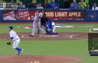 David Ortiz clobbers a mammoth solo shot to right