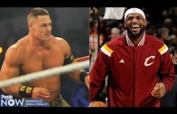 John Cena calls out LeBron James & says he will dribble on his face!