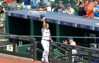 Kirk Nieuwenhuis with a historic 3 homer performance for the Mets