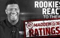NFL Rookies react to their Madden 16 Ratings