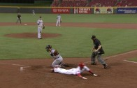 Off The Charts: Billy Hamilton scores on a grounder to 3rd base