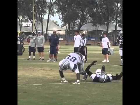 Dez Bryant Drops Orlando Scandrick In Practice With Quick Move