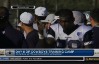 Dez Bryant punches teammate Tyler Patmon at training camp