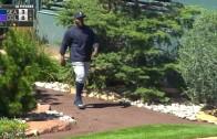 Fernando Rodney beats the heat in bullpen by hiding in shade