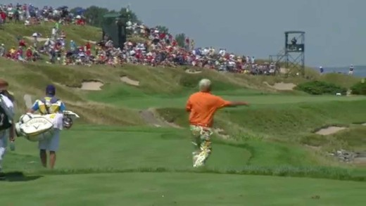 John Daly throws club into Lake Michigan