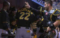 Pittsburgh Pirates break out a dance routine pre-game