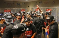 New York Mets celebrate clinching division title for the first time since 2006