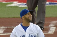 David Price snares a comebacker & laughs it off