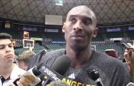 No retirement decision yet for Kobe Bryant