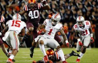 Ohio State WR Braxton Miller with an incredible spin move touchdown