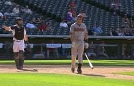 Paul Goldschmidt lines into a triple play in Colorado