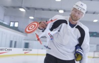 Steven Stamkos picks off some drones with wrist shots