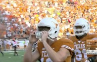 Texas punter lets ball slip through hands causing loss for Longhorns