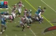 Panthers score ridiculous TD from their own fumble