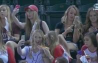 D-Backs announcers blast girls taking selfies during game