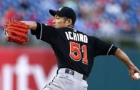 Ichiro Suzuki made his MLB pitching debut at age 41