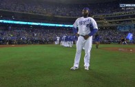Johnny Cueto pitches 2 hit complete game to shut down the Mets