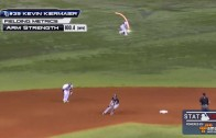 Rays outfielder Kevin Kiermaier throws a 100 MPH dart to home plate