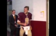 "Kirk Cousins yells ""you like that"" at Washington Redskins reporters"