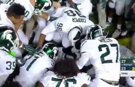 Michigan State wins on mishandled Michigan punt