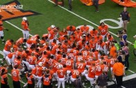 Oklahoma State holds moment of silence for homecoming tragedy