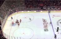 "Savage: Philadelphia Flyers fans chant ""She Said No"" at Patrick Kane"