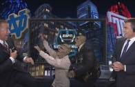 Kirk Herbstreit pranked by zombies for Halloween