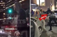 76ers Jahlil Okafor gets in a street brawl